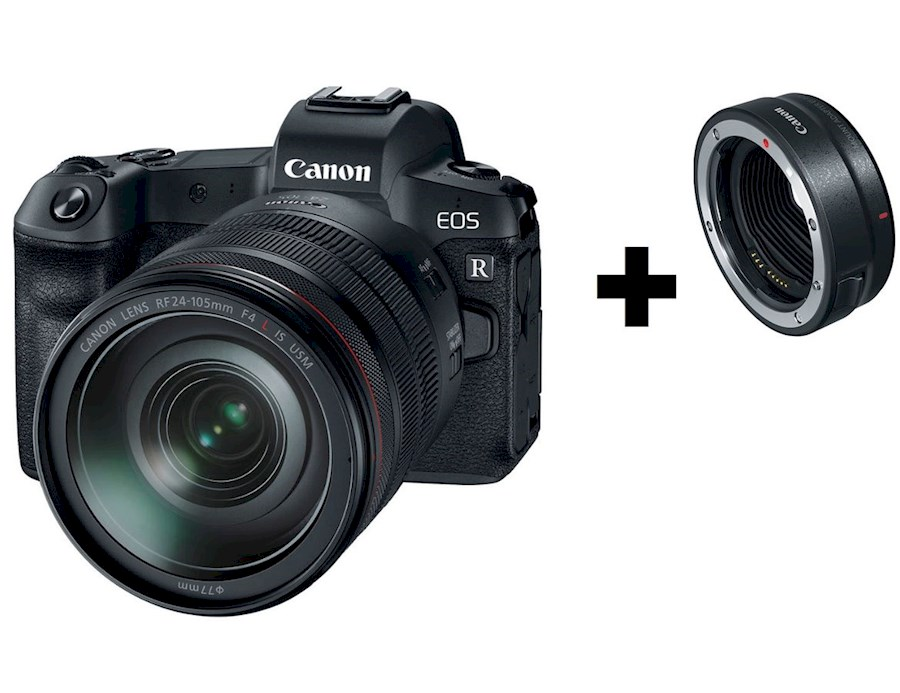 Rent a Canon Eos R + EF mount adapter in Schagen