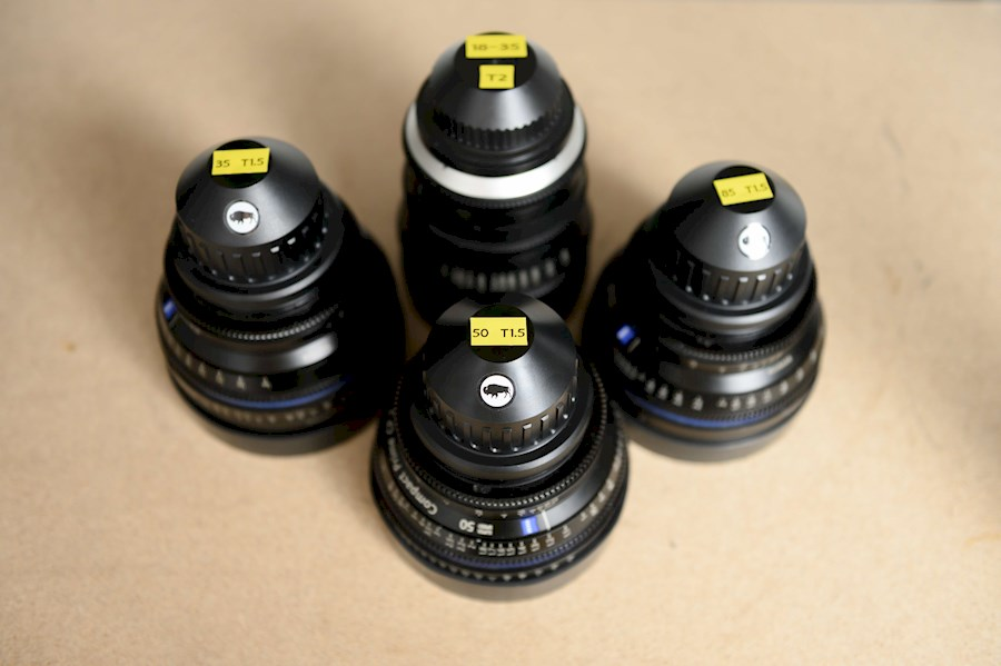 Rent Zeiss SuperSpeed Set from BRUUT COLLECTIVE