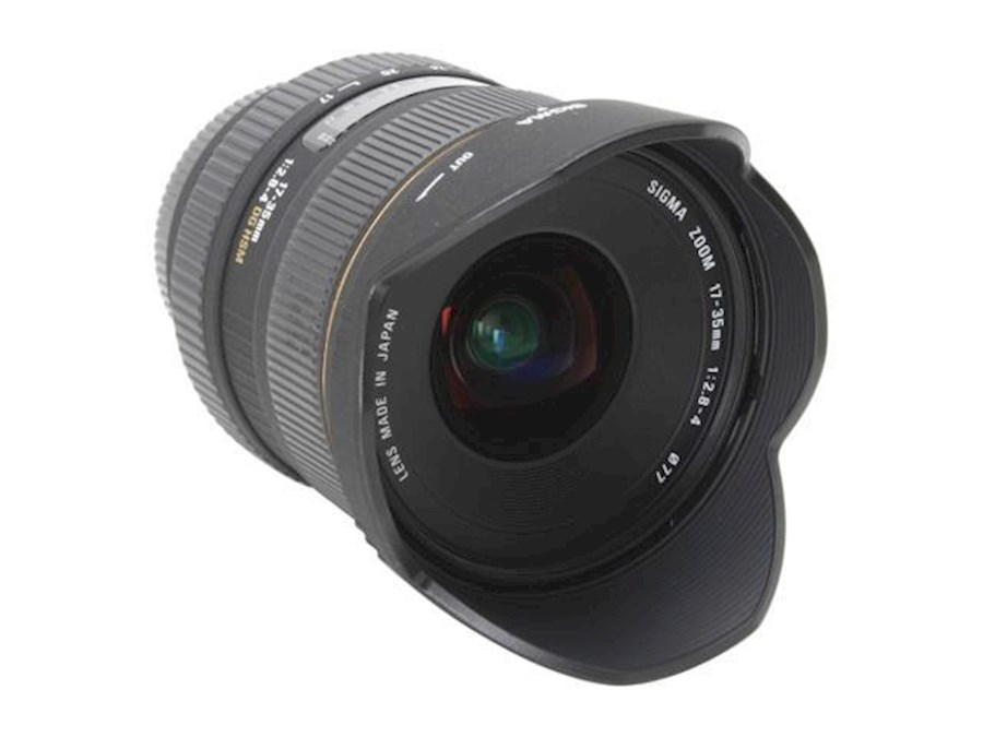 Rent a Sigma 17-35mm DG HSM in Amsterdam from PIP69
