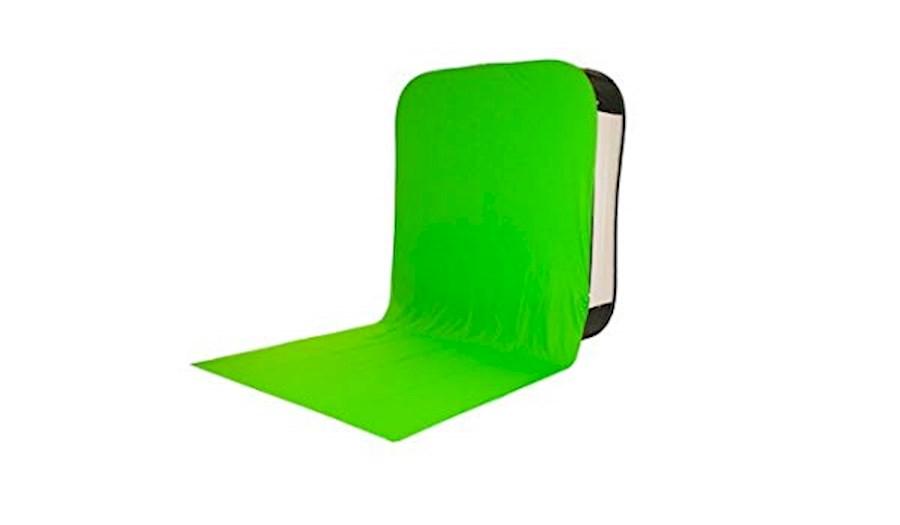 Huur Portable greenscreen 2... van LUMINEUS V.O.F.