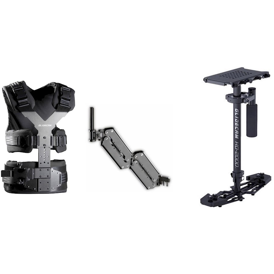 Rent Glidecam HD 2000 + Harnas from VIDEO4COMMERCE B.V.