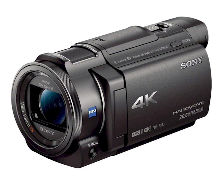 Rent Sony FDR-AX33 from Koen