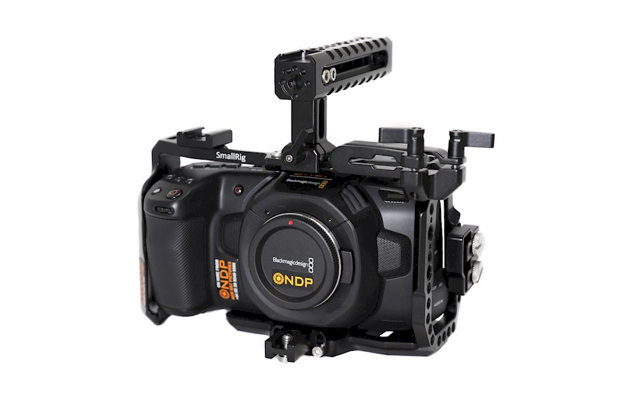 Rent a Blackmagic Pocket Cinema Camera 4K - V-lock set in Hoofddorp from Marlon