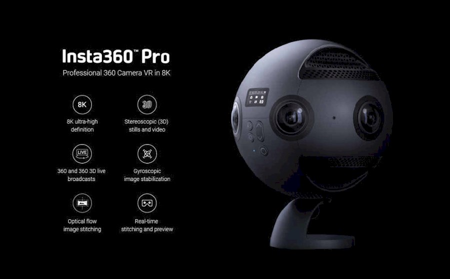 Rent insta 360 pro from Bart