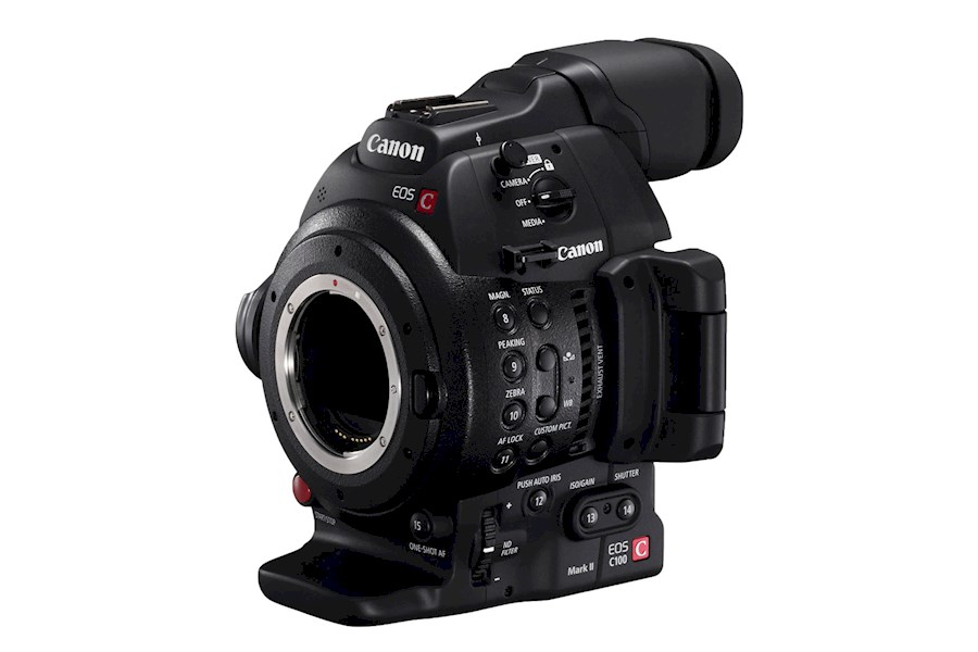Rent a Canon c100 MKII in Amsterdam from Erik