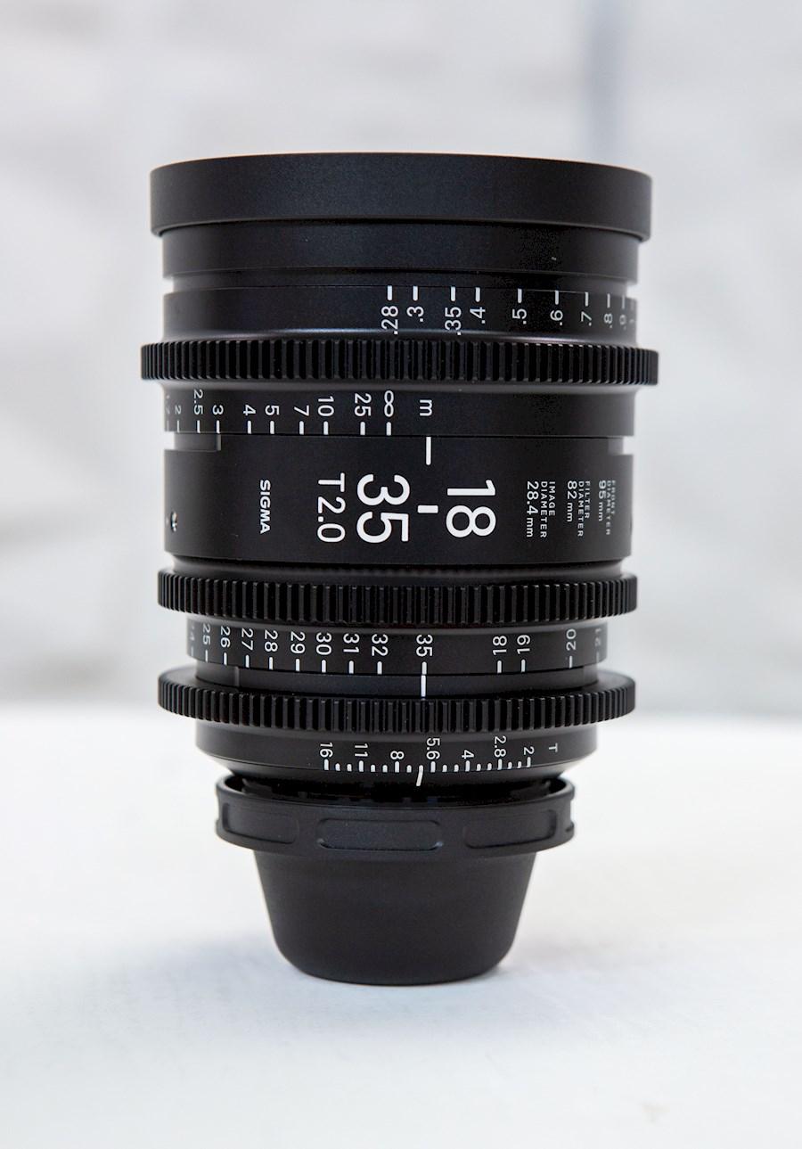 Huur een Sigma cine Lens 18-35 mm PL in Paris van Remi