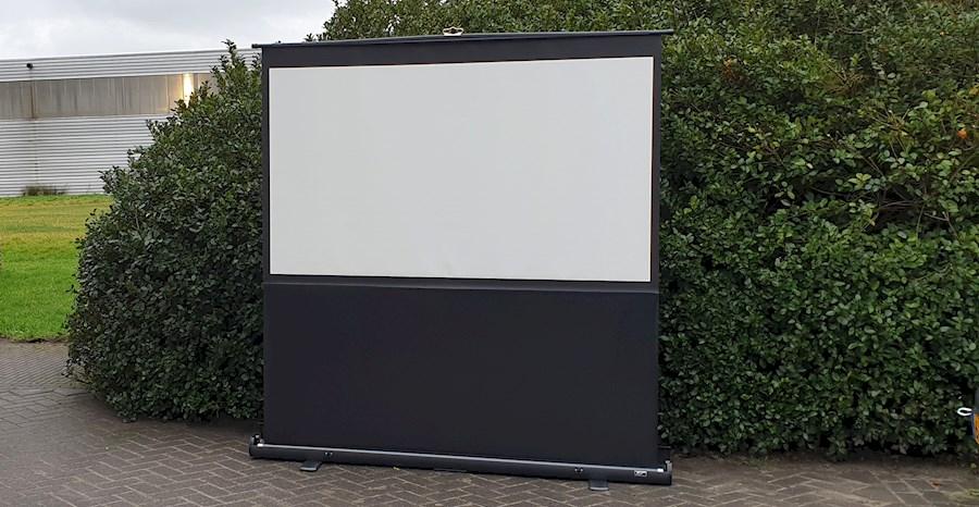 Huur een Beamer scherm in Woudsend van Willem
