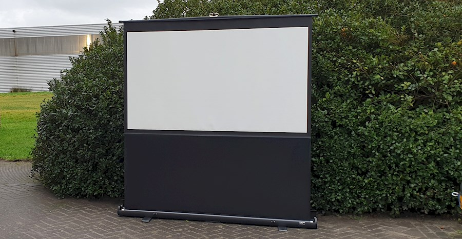 Rent Beamer scherm from FILMKE.NL