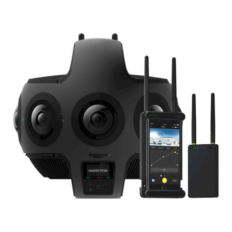 Rent a Insta360 Titan 11K 360 Degrees Camera in Nijmegen from UNBOUND VR B.V.