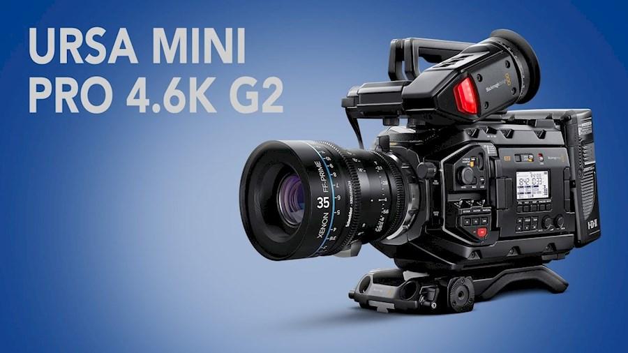 Louer un(e) Blackmagic URSA Mini pro G2 4.6k à Vreeland de Bas