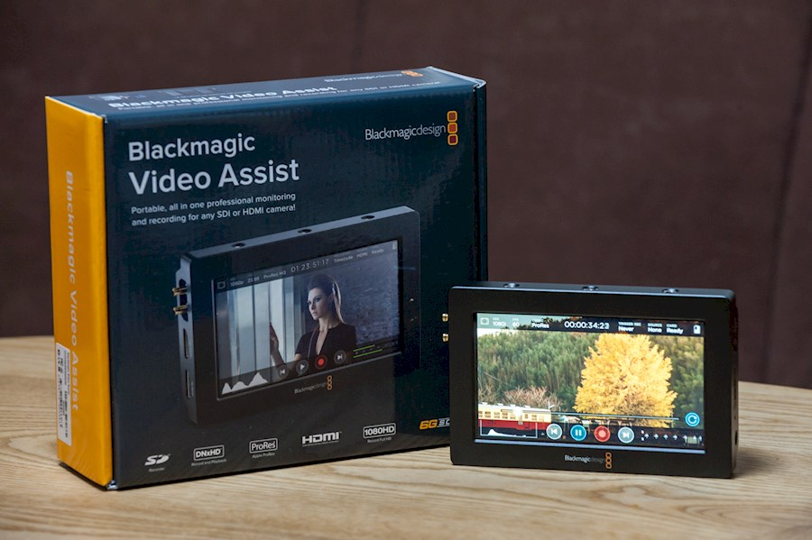Rent Blackmagic Video Assist from Andrea