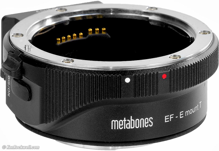 Rent Metabones EF to E mount from Andrea