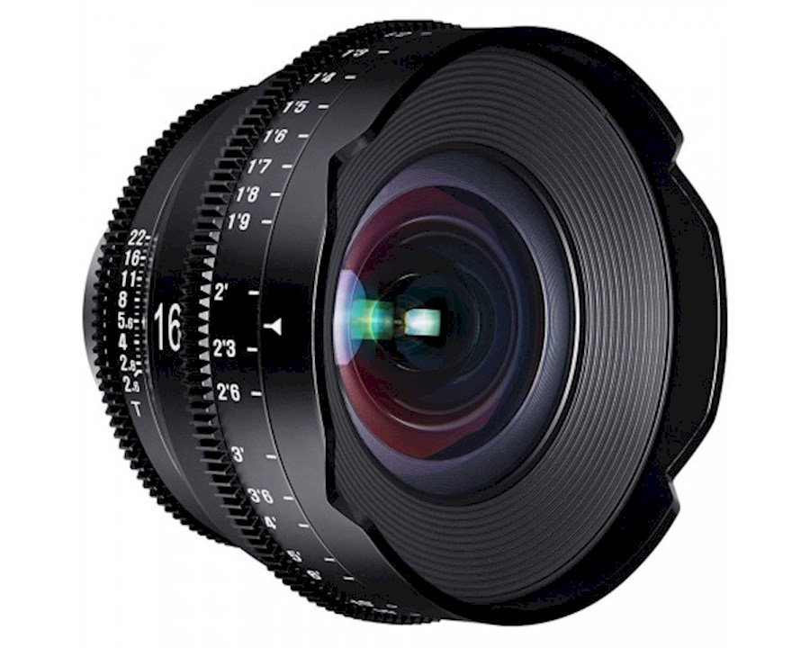 Huur een Xeen 16mm T2.6 EF cinema lens in Nieuw- en Sint Joosland van Wesley