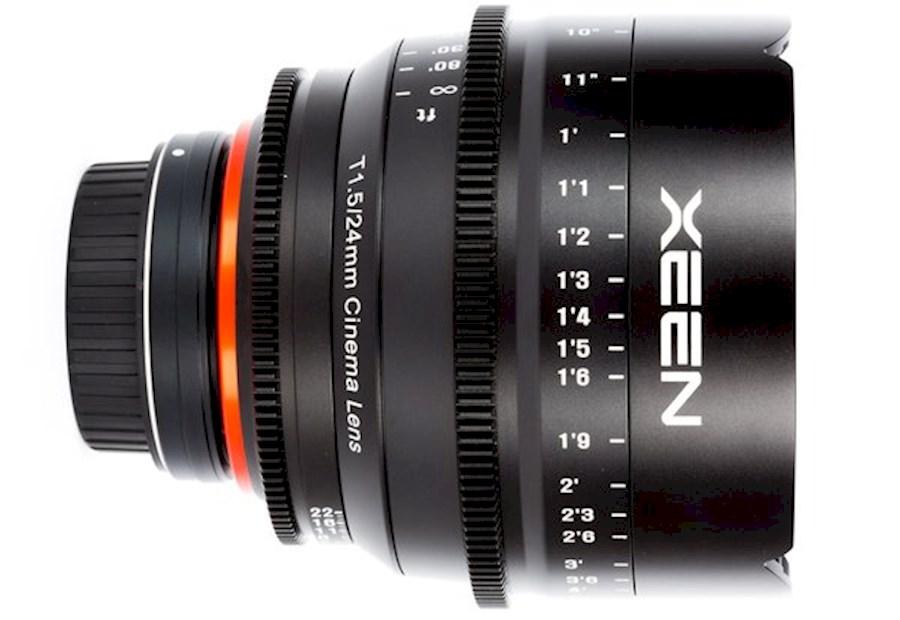 Huur een Xeen 24mm T1.5 EF cinema lens in Nieuw- en Sint Joosland van Wesley