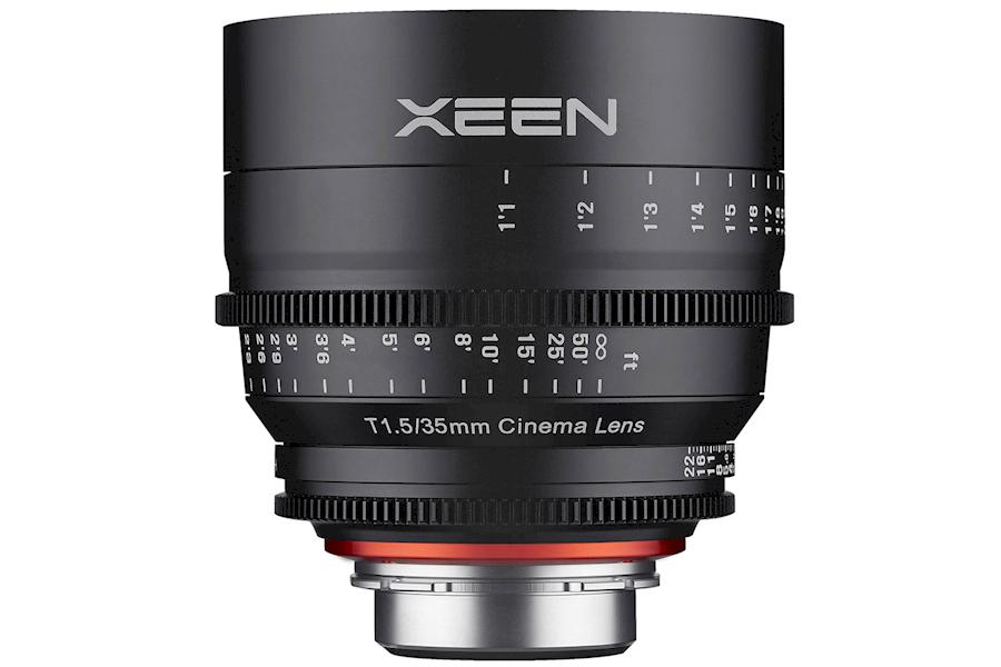 Rent Xeen 35mm T1.5 EF cine... from Wesley