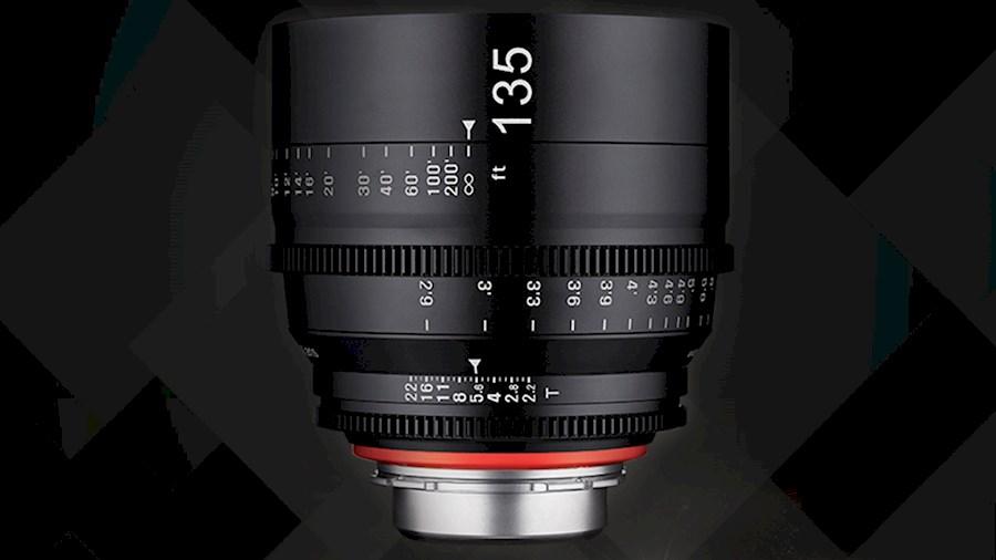 Huur een Xeen 135mm T2.2 EF cinema lens in Nieuw- en Sint Joosland van Wesley