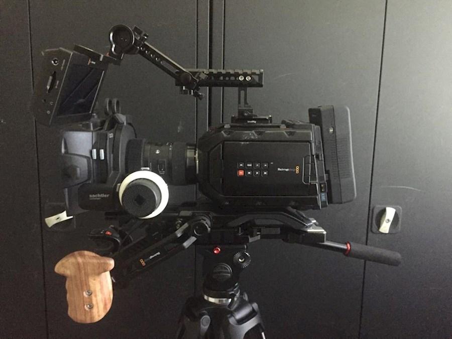 Rent a Blackmagic ursa mini 4.6k kit (EF) in Wierden from RVSTUDIOS