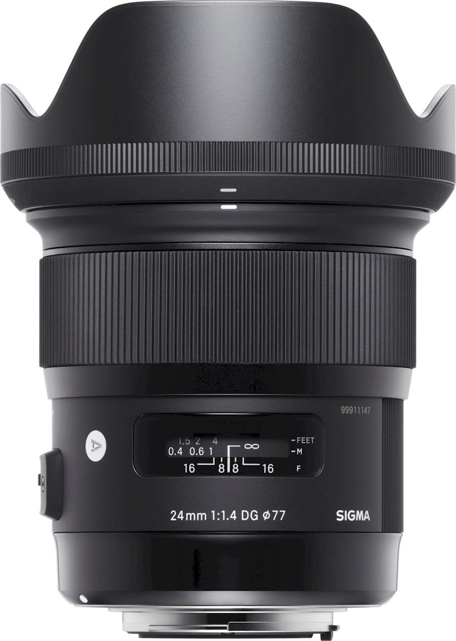 Rent a SIGMA 24mm F1.4  DG HSM | Art  L-mount in Houten from SIGMA BENELUX B.V.