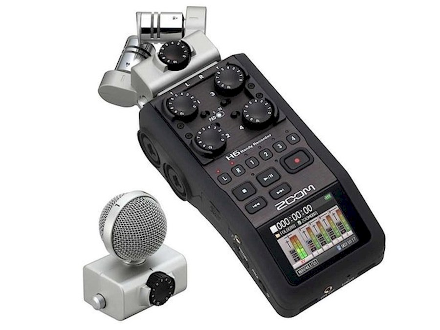 Rent Zoom  H6 from Aron