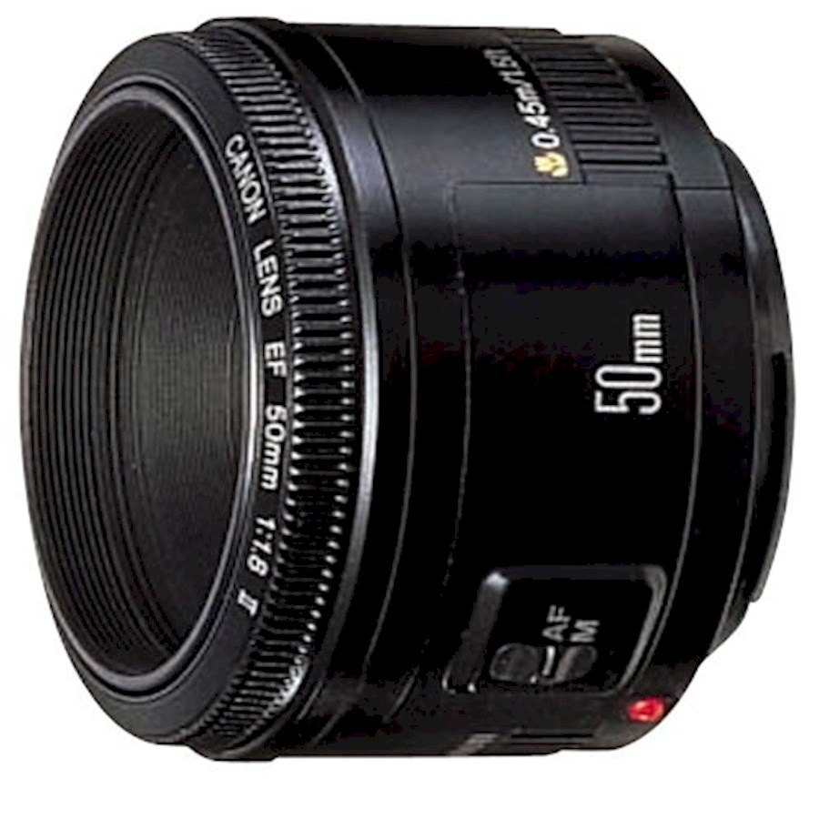 Rent a Canon Lens EF 50mm 1:1.8 II in Amersfoort from WIJ FOTOGRAFIE