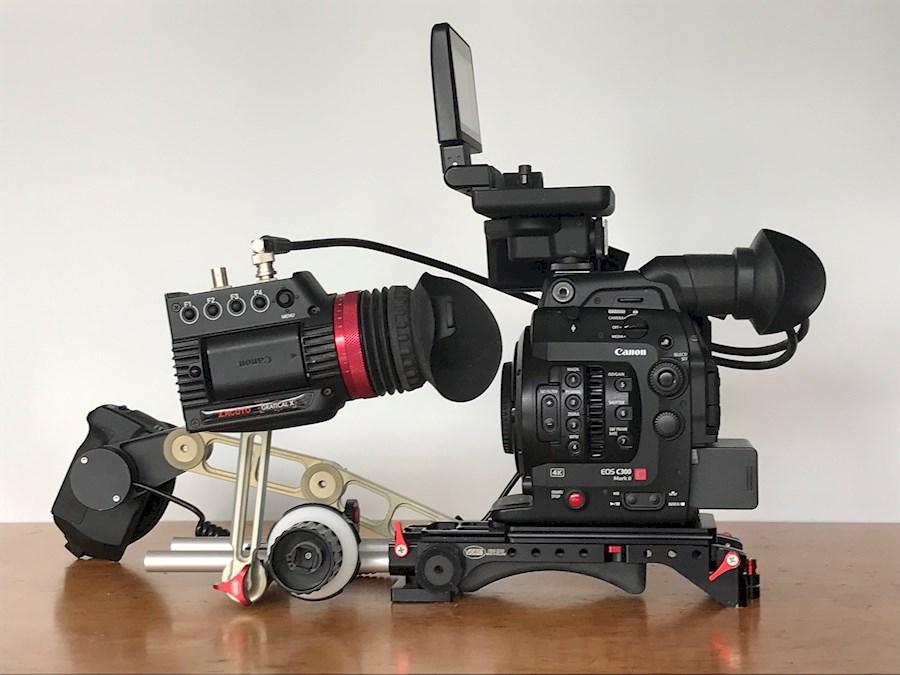 Louer un(e) Canon C300 MarkII incl rig en Zacuto Gratical viewfinder à Amsterdam de J P VAN DEN BEUKEL