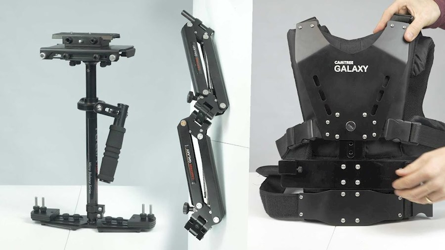 Rent a Camtree Galaxy Stabilizer Arm & Vest + HD 3000 Steadycam in Rotterdam from FED MEDIA