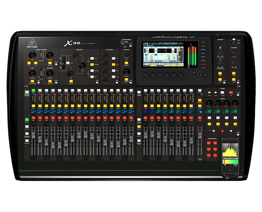 Rent Behringer x32 inclusie... from HANZ-ON MEDIA