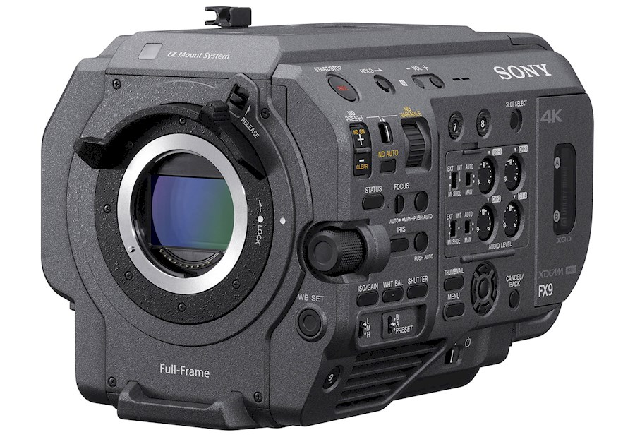 Rent a Sony PXW FX9 in Edegem from Arno