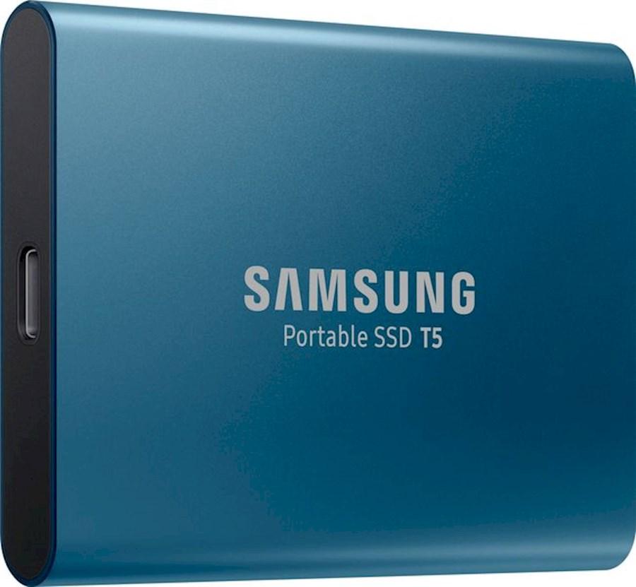 Huur Samsung T5 SSD 500GB (2x) van Jimmy
