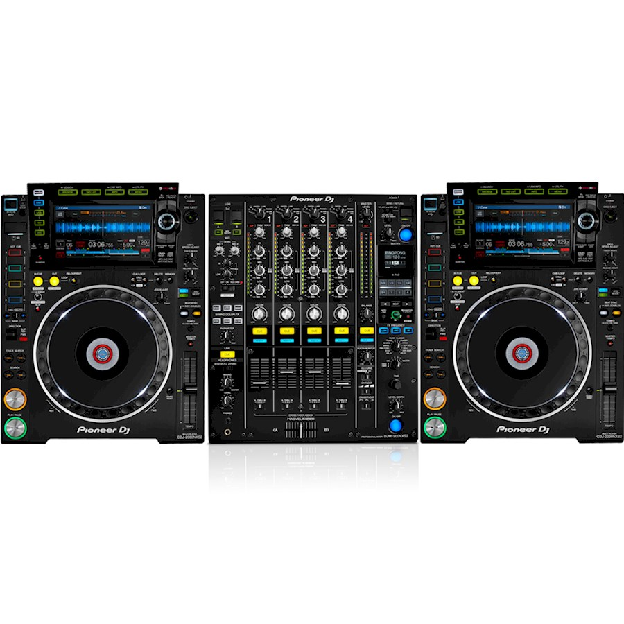 Rent DJM900NXS2 + 2x CDJ200... from LOVELACE ENGINEERING B.V.