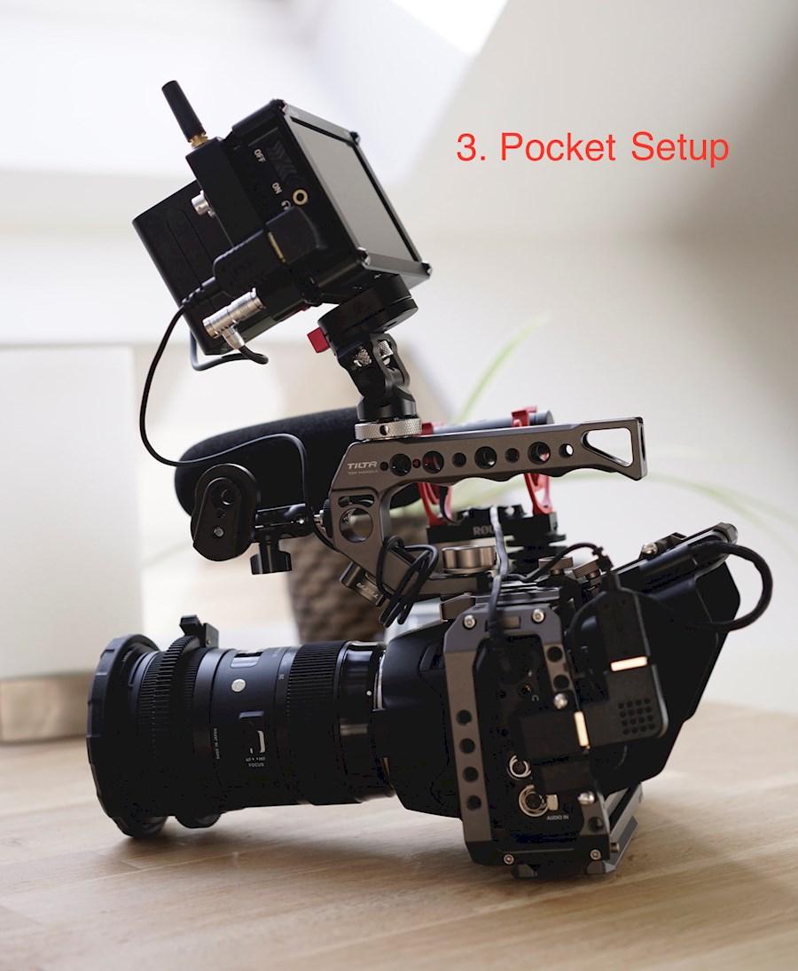 Louez BMPCC 6K (Pocket Setup) de Pim
