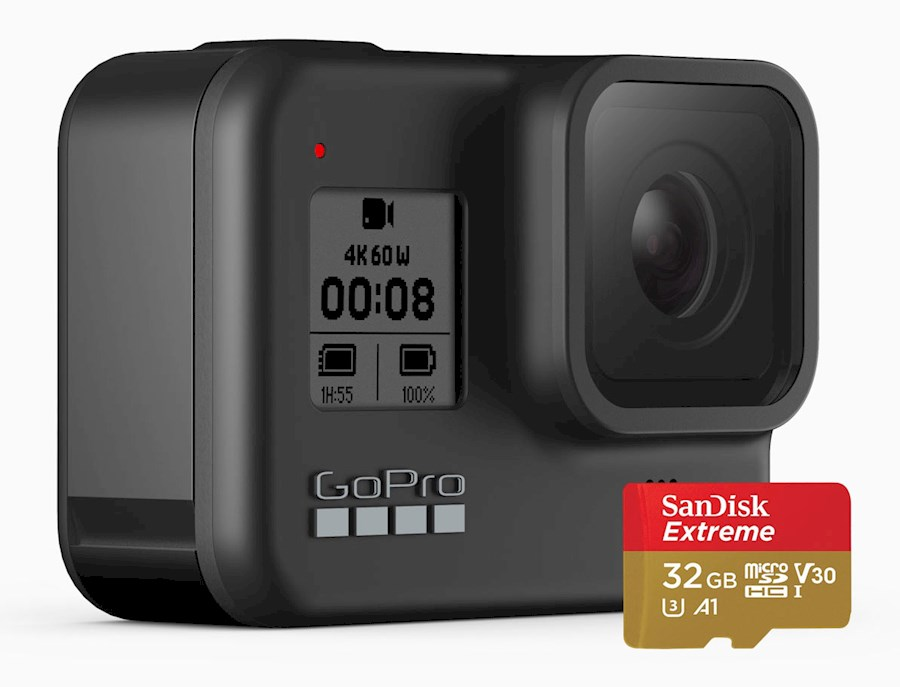 Rent a GoPro 8 Hero Black + accessoires in Amsterdam from Diogo