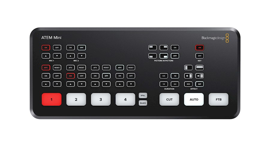 Rent Blackmagic ATEM Mini from Kyle