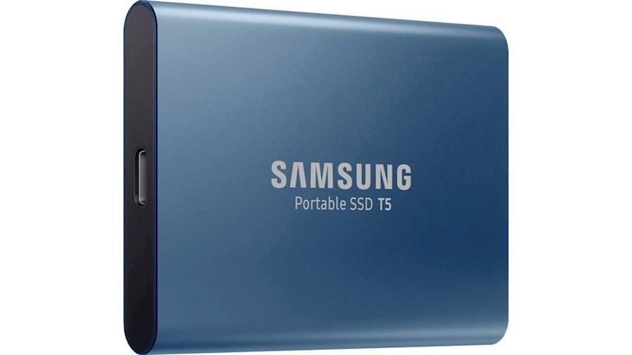 Huur een Samsung T5 Externe SSD - 500Gb in Evergem van Ruben
