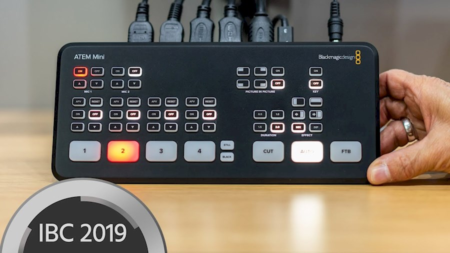 Rent Blackmagic ATEM mini from V.O.F. FEEDBUILDERS