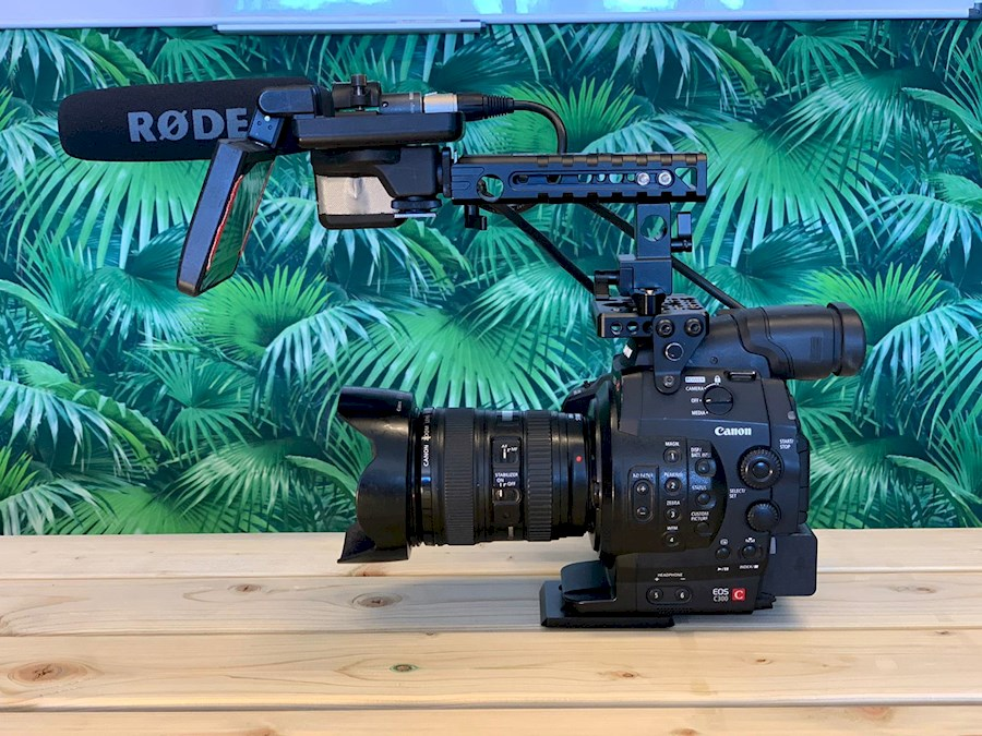 Rent a Canon C300 in Breda from Pim
