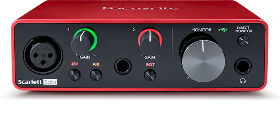 Rent Focusrite Scarlett Sol... from Tim