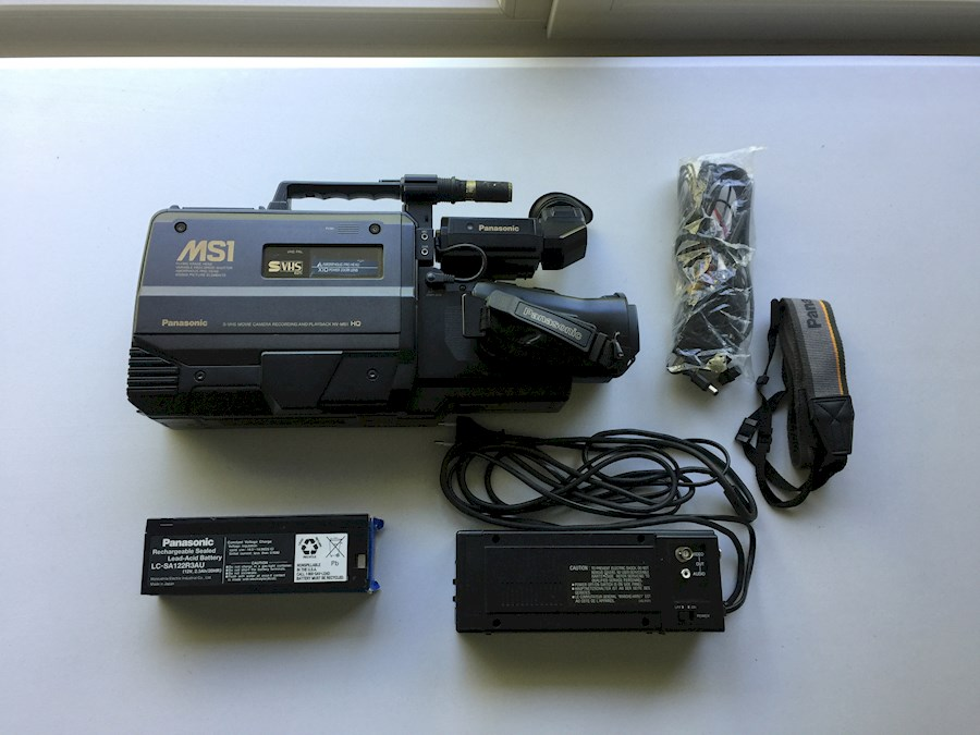 Rent a Panasonic NV-MS1 VHS Camera in Overijse from Lorenzo