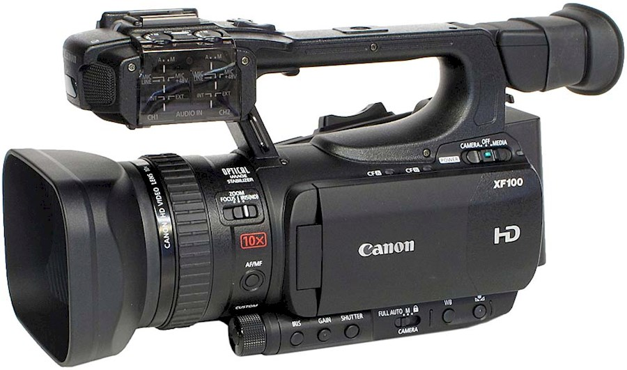 Rent a Canon XF100 in Vlaardingen from Jurriaan
