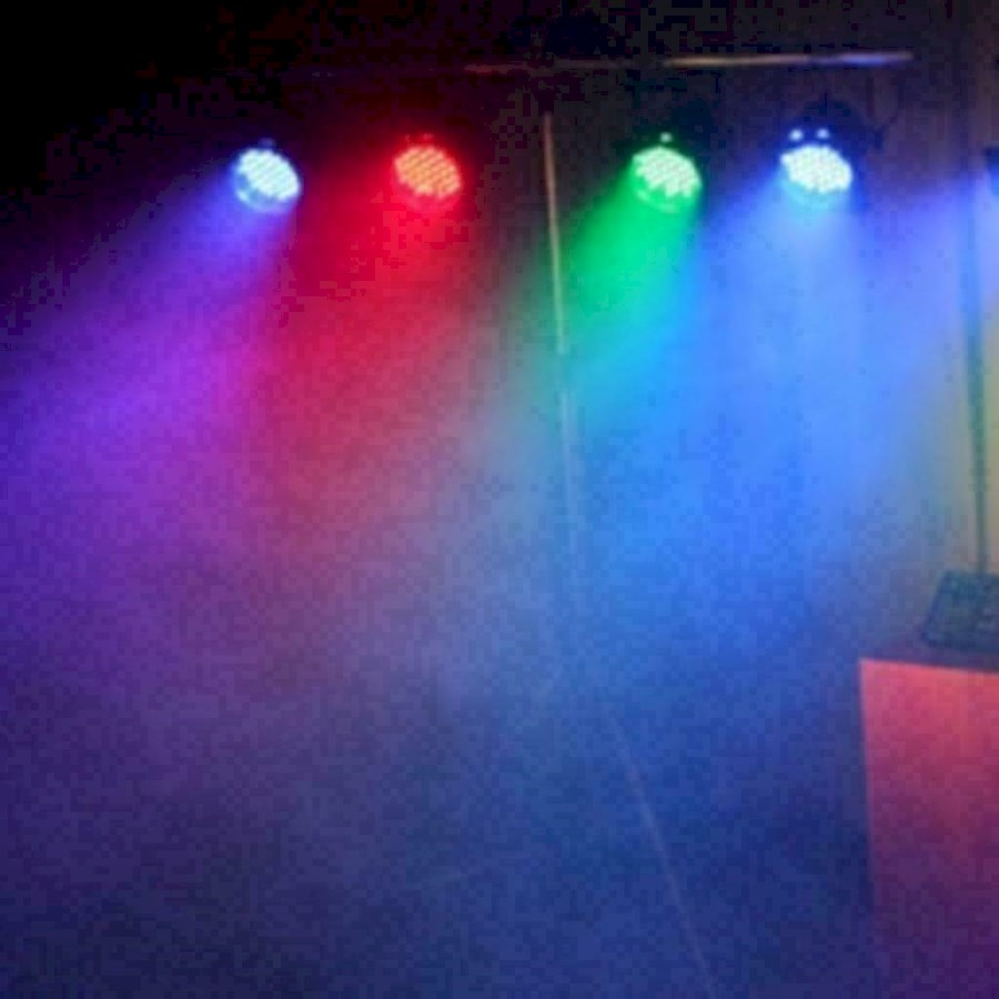 Rent a 4x led par 64 op statief in Huizen from Kevin