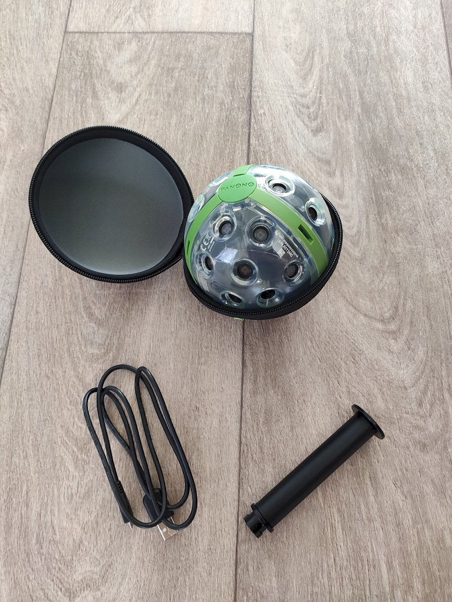 Rent a Panono 360° foto camera 108 megapixel 16K in Zeist from Tim