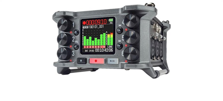 Rent a Zoom F6 audiorecorder in Antwerpen from VOF Of My Life