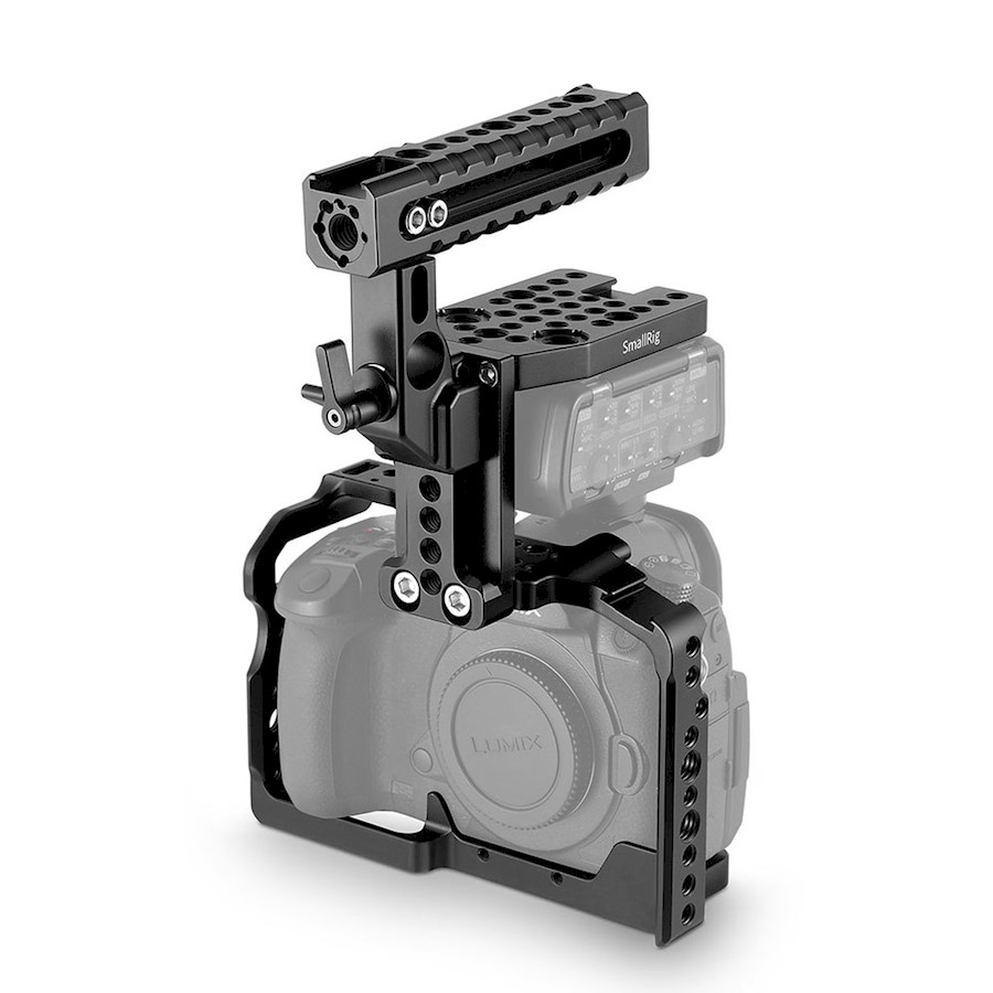 Rent a Smallrig 2052 cage (GH5 + DMW-XLR1) in Delft from Joey