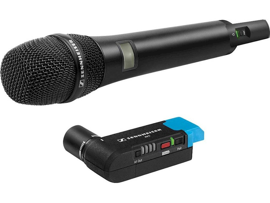 Rent a Sennheiser AVX-835 draadloze handmicrofoon in Delft from Joey