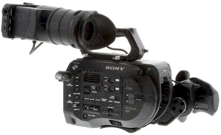 Rent a Sony PXW-FS7 mk1 Body in Amsterdam from Thomas