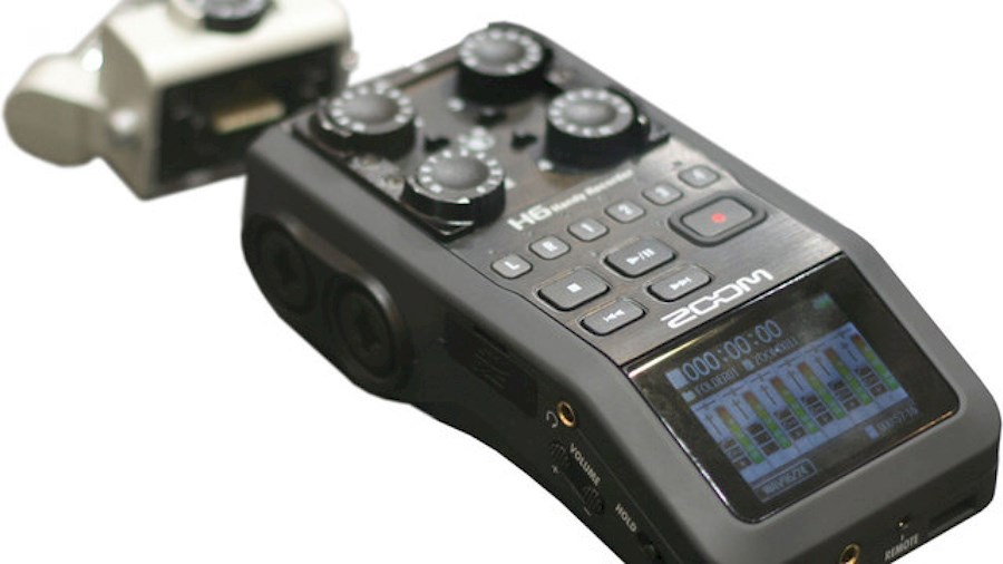 Louez zoom h6 audio recorder de Thomas