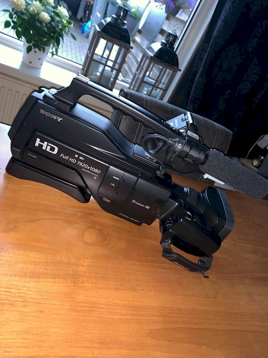 Rent a Sony  HXR-2500E in Deventer from Sybren