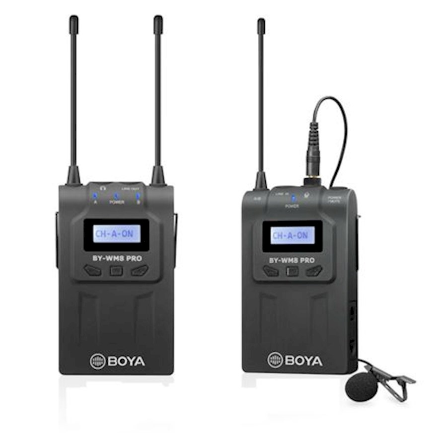 Rent Boya BY-WM8 UHF Microf... from Thomas