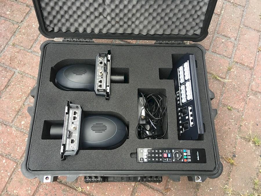 Rent a PTZ camera set (2 stuks met controller) Datavideo PTC-140 en RMC-180 in Balk from JC MUSIC, LICHT EN GELUID