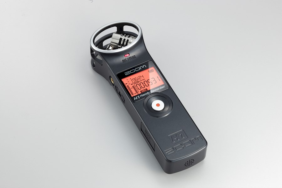 Rent Zoom H1 audio recorder from SHOTS VAN ALEMAN